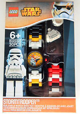 NEW LEGO 8020325 STAR WARS STORMTROPPER BUILDABLE WATCH W/ MINIFIGURE -INTL.