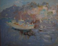 Russian oil cardboard Impressionism Paris Landscape Demidov Alexander п-25
