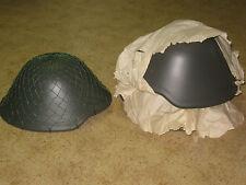DDR NVA Hofi acciaio casco + casco rete mimetica tg. 2 NUOVO!!!