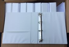 """Lot of (12) A4 EUROPEAN 2"""" D-ring Clearview Binders for A4 Sheet Size"""