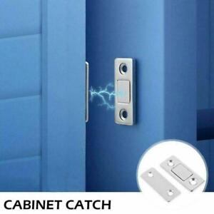 2/10Pcs Strong Magnetic Catch Latch Ultra Thin For Door Cabinet Cupboard A9K7