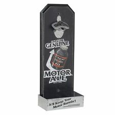 Geschenkidee GIFT IDEA HARLEY DAVIDSON BIKER MOTORRAD FLASCHENOEFFNER WAND WOOD