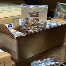 Pokemon TCG:XY Evolutions Sealed Booster Box - Pack of 36 CASE BREAK w/Protector