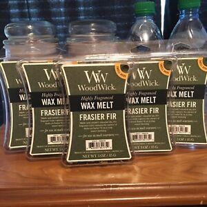WoodWick Frasier Fir Wax Melts Lot Of 6