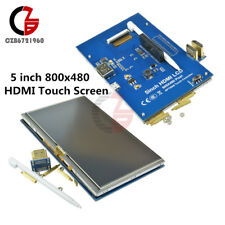 5 inch 800x480 HDMI Touch Screen LCD Display for Raspberry Pi Pi2 Model B+ A+