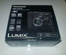 New PANASONIC LUMIX ZS100 4K Digital Camera 20.1 Megapixel Black