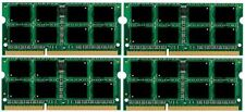 32GB (4x8GB) Memory PC3-12800 SODIMM Dell Precision M6500 Quad Core DDR3-1600MHz