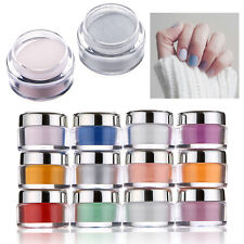 Professional Acrylic Crystal Polymer Powder For Nail Art Tips 30g/1oz - 13 Color