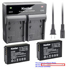 Kastar Battery AC Rapid Charger for Canon LP-E12 LC-E12 Canon PowerShot SX70 HS