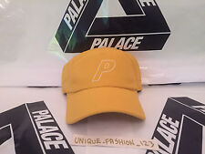 Aw15 Palace Skateboards Nylon 7 Panel Camp Cap P A Stade Yellow Curved Peak