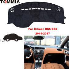 For Citroen DS5 DS6 Car Dashmat Pad RHD Dashboard Cover Carpet Dash Mat