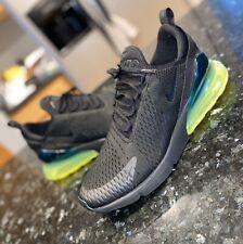 Nike Air Max 270 Rare Black Green Neon Volt Size 14 AH8050-011 Running Casual