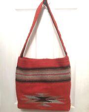 100% Wool Woven Chimayo Lined Bag
