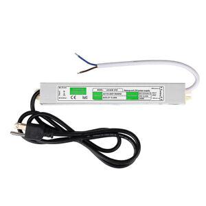 AC 100-240V to DC 12V 2.5A 30W Power Supply Driver Voltage Adapter Transformer