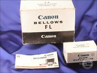 Canon Bellows FL [FD Mount]  inc Slide Duplicating Attachment - Excellent - 9810