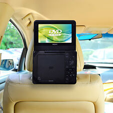 Car Headrest Mount Holder for 7 inch Standard Portable DVD Player