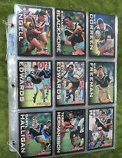 #ZZ. RARE SET OF GOLD SEAL 1995  NEW ZEALAND  RUGBY LEAGUE CARDS