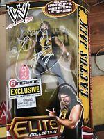 Cactus Jack - Signed Elite Ringside Exclusive Series Figure - WWE Mattel  -new