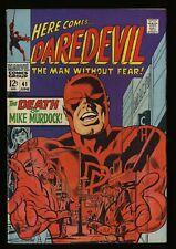 Daredevil #41 FN- 5.5 Marvel Comics