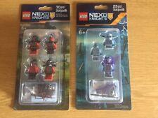 ++LOT de 2 PACK ++LEGO NEXO KNIGHTS ++ AccessoIres Set Minifigures / Blister ++