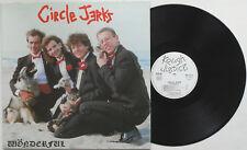 Circle Jerks - Wonderful LP FRANCE PRESS Black Flag Bad Religion Channel 3 Punk