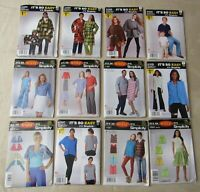 Simplicity Sewing Patterns Lot of 12~Men & Women Mixed Sizes~UNCUT/FF~Easy #120