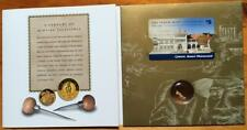1999 PERTH MINT CENTENARY..PHONE CARD & NATURAL GOLD NUGGET in FOLDER.
