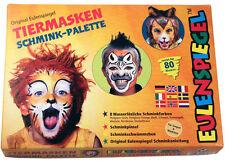 Tiermasken Schmink-Palette NEU - Styling Schminke Karneval Fasching