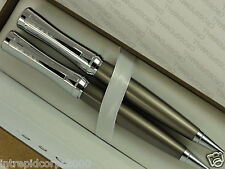 Cross Parasol Titanium Plate Compact Curve & extremely polished Pen & 0.9 Pencil
