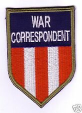 WWII - C.B.I. WAR CORRESPONDENT (Reproduction)