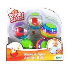 Bright Starts agitare e ruotare attività Palle BABY giocattolo età 6 mesi +
