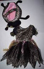 CHILDREN'S PLACE TCP LEOPARD KITTY PRINCESS COSTUME with TREAT BAG MEOWS 3-4
