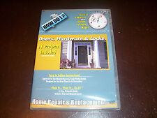 HOW DO I Doors Hardware & Locks Repair Replacement Projects Improvement DVD NEW