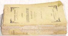 GIRARDIN CORSO LETTERATURA DRAMMATICA RECITAZIONE 1800