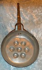 Fire place - Pit Fire Long Handled Metal alloy Pan with 7 Spheres Hearth Ware