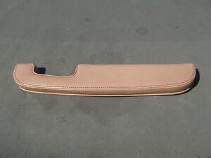 1988-'89 Jaguar Vanden Plas Rear Door Arm Rest Leather (RH) Rear OEM
