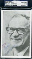 Ernie Harwell Signed Psa/dna Certified Vintage Photo Postcard Autograph