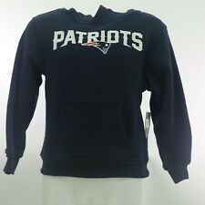 New England Patriots Official NFL Apparel Youth Kids Size Hooded Sweatshirt New