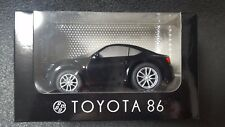 TOYOTA 86 Mini Car Pullback Black Not sold in Store Japan Gift Super Rare