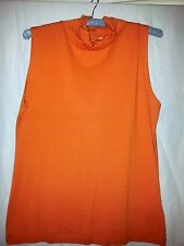 Country Road ladies top Tangerine size small XL