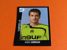 N°214 CARRASSO OLYMPIQUE MARSEILLE OM PANINI FOOT 2008 FOOTBALL 2007-2008
