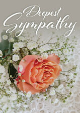 JUST 29p, SYMPATHY CARDS X 12, 120mm X 179mm, excellent quality, ( S8