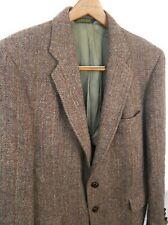 HARRIS TWEED 40R Wool Reddish Gray MultiColor  Sport Coat Hacking Jacket