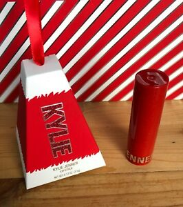 Kylie Cosmetics Holiday Collection Coming To Town Matte Lipstick Ornament
