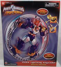 Power Rangers Ninja Storm Storm Lightning Megazord Special Edition Bandai MISB