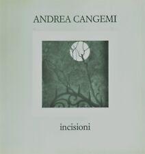 Andrea Cangemi Incisioni - Arti Grafiche Jesine Ancona 1984