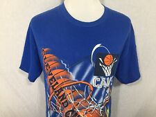 Cleveland Cavaliers NBA Basketball Magic Adult Large Blue T Shirt Vtg 1990s