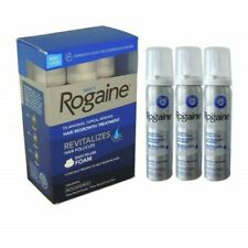 Men's Rogaine 5% Minoxidil Hair Regrowth Treatment Foam 1/2/3 Months Supply NEW!