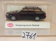 Rietze 1/87 Werbemodell Audi 100 Avant Kombi schwarz OVP #2761