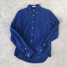 GANT Rugger Medium Indigo Oxford Blue Button Down Mens